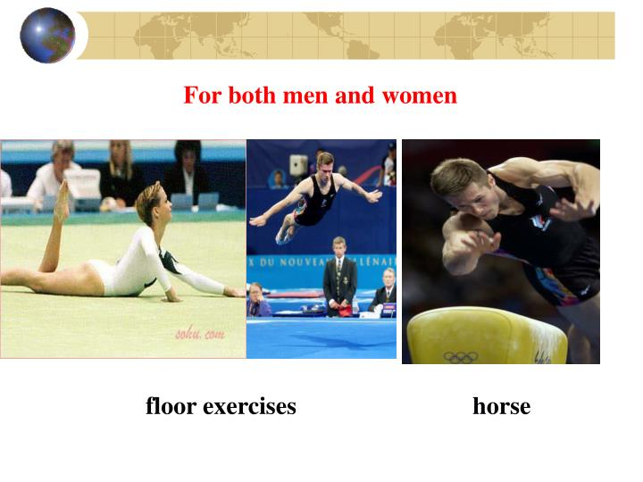 For both men and women
