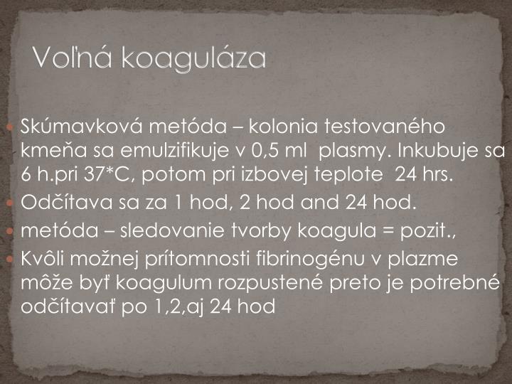 Voľná koaguláza
