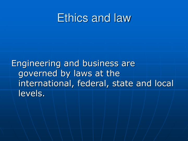business law and ethics lecture reviews View notes - business law and ethics trademarks notes from mgmt 1260 at rensselaer polytechnic institute lecture notes 10/7 tuesday, october 7, 2014 9:59 am midterm due 10/10 at 5pm to.