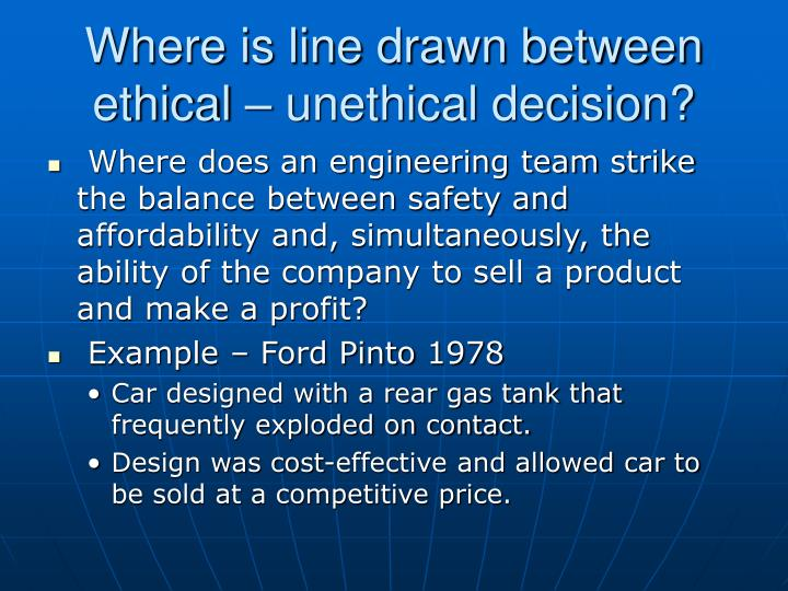 unethical business decisions The oft theft at work comes in a variety of forms, and oftentimes employees do not view it as unethical behavior, believing no one gets hurt by the action employees take home office supplies, use business computers for personal tasks, pad expense accounts and abuse sick time or allotted personal.