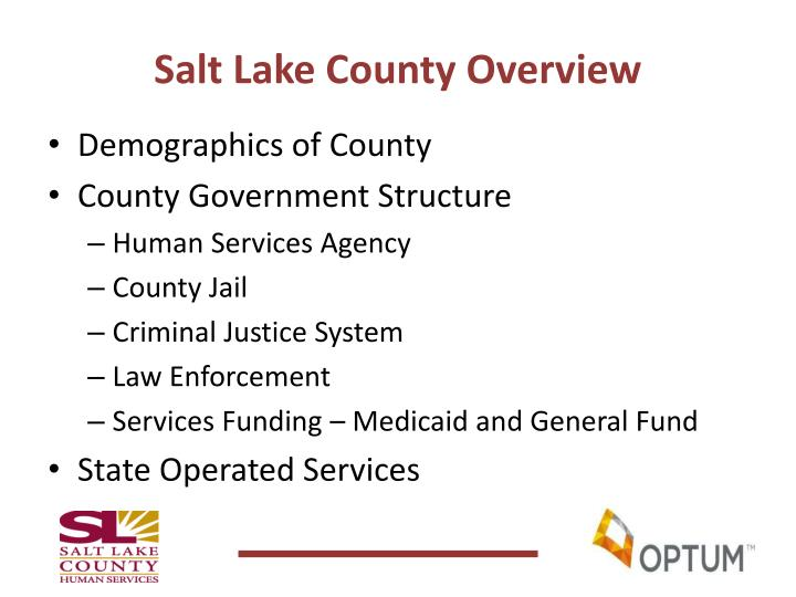 Salt Lake County Overview