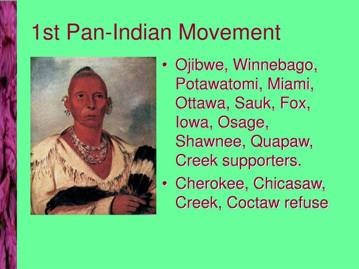 1st Pan-Indian Movement