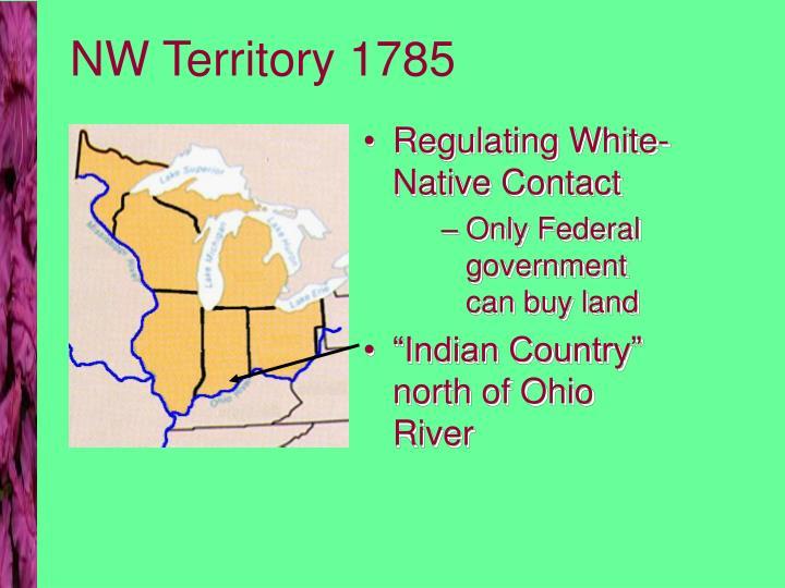 NW Territory 1785