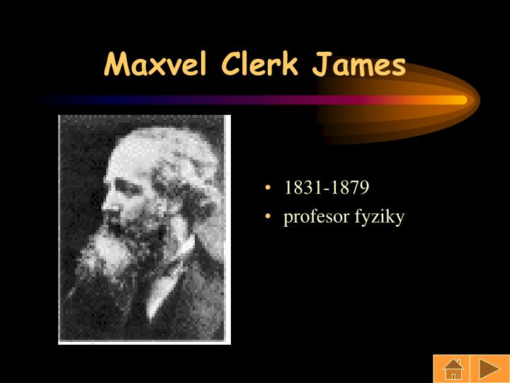 Maxvel Clerk James