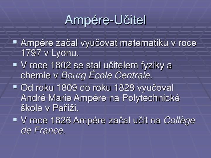 Ampére-Učitel
