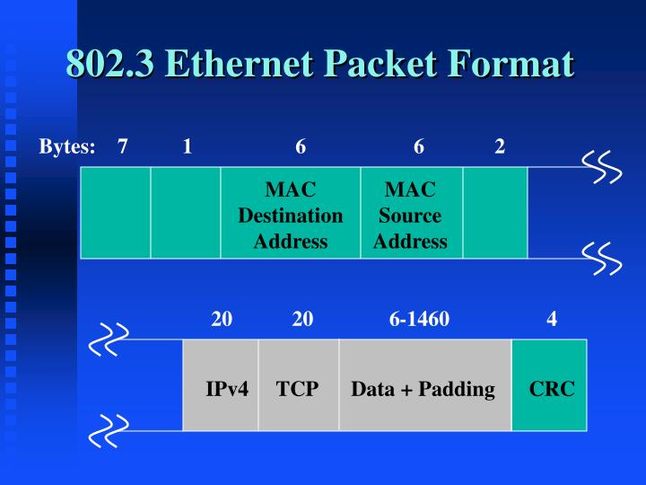 802.3 Ethernet Packet Format