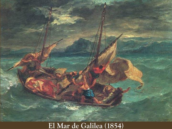 El Mar de Galilea (1854)