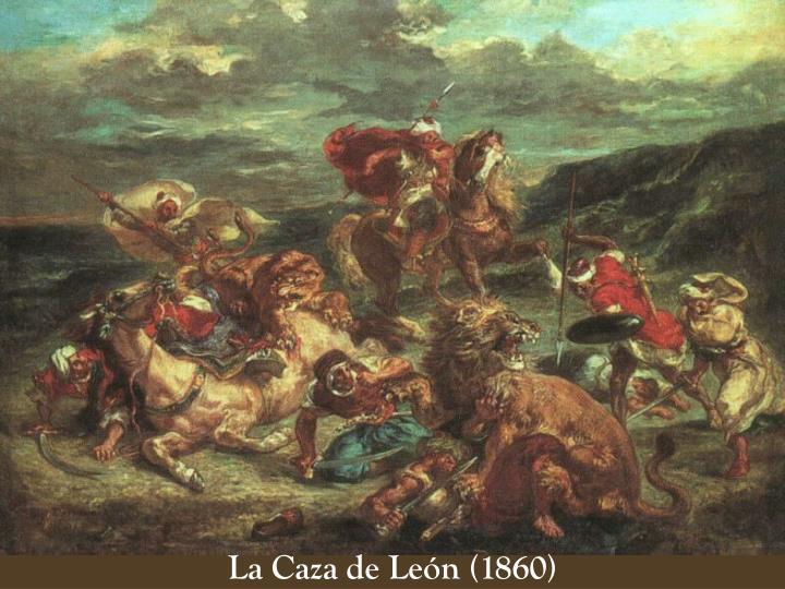 La Caza de León (1860)