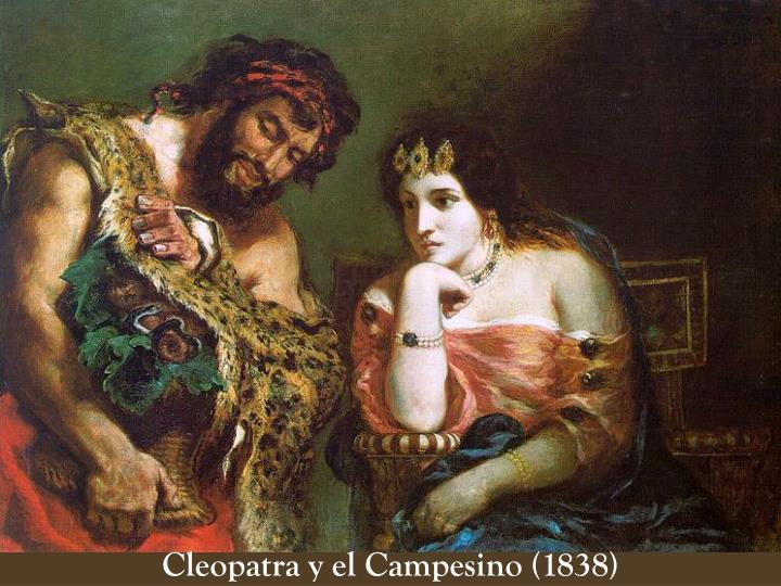 Cleopatra y el Campesino (1838)