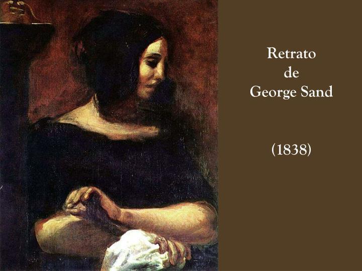 Retrato                              de                          George Sand