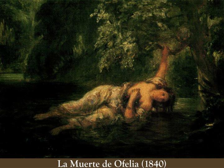 La Muerte de Ofelia (1840)