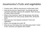 jouamoulou s fruits and vegetables
