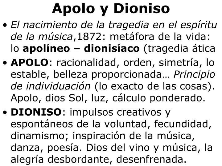 Apolo y Dioniso
