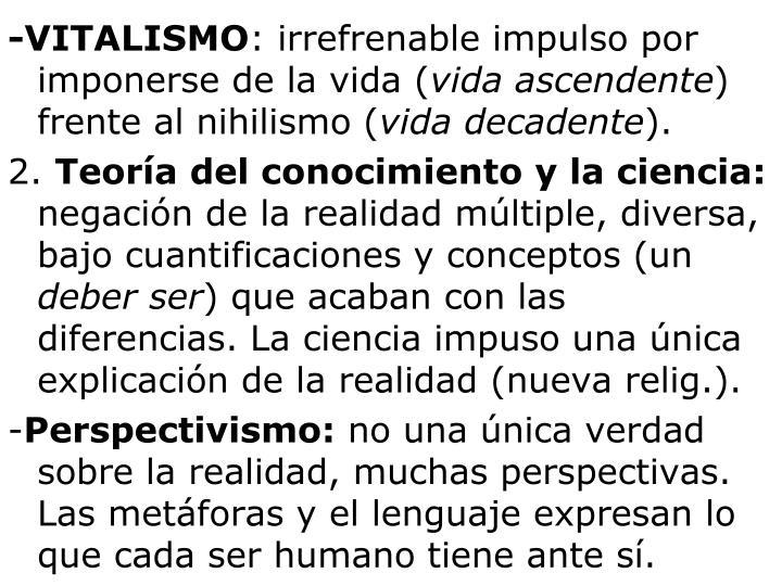 -VITALISMO