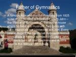 father of gymnastics