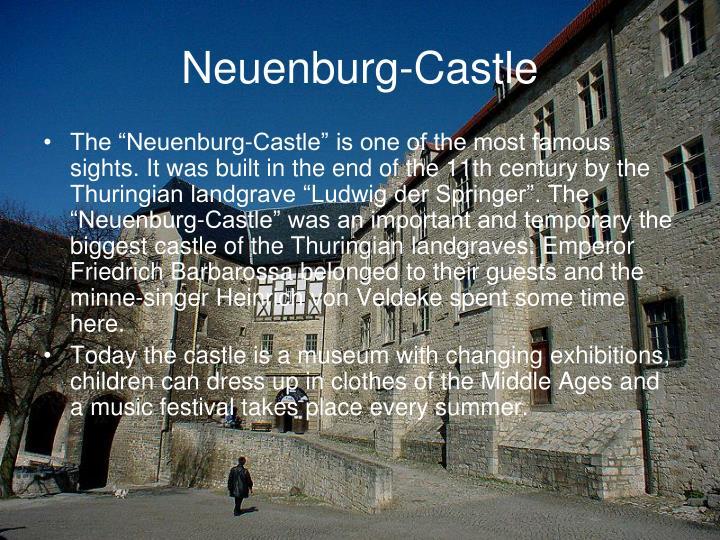 Neuenburg-Castle