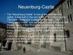 neuenburg castle