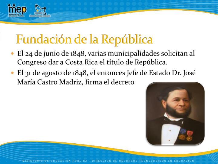 Fundación de la República