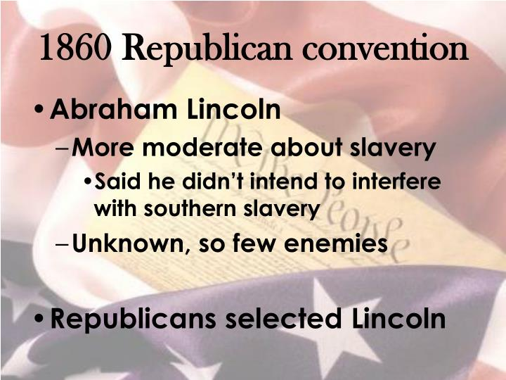 1860 Republican convention