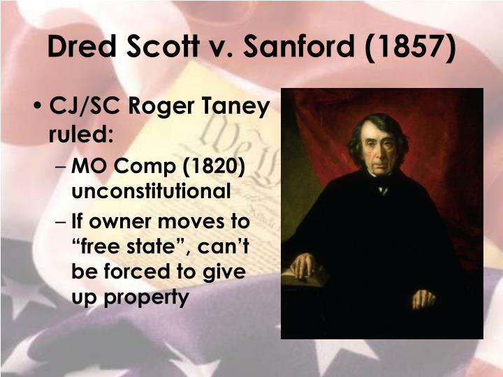 Dred Scott v. Sanford (1857)