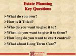 estate planning key questions