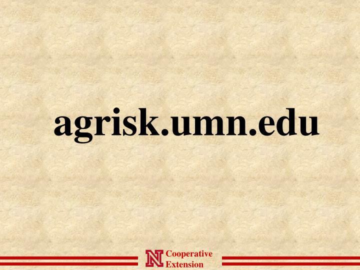 agrisk.umn.edu