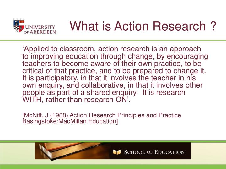 What is Action Research ?