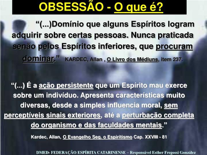 OBSESSÃO -