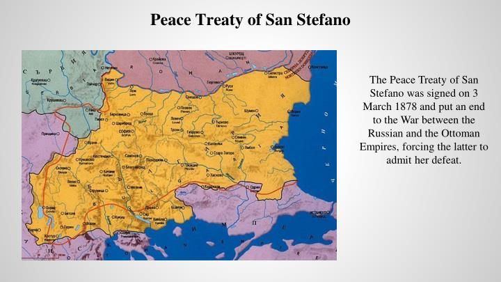 Peace Treaty of San Stefano