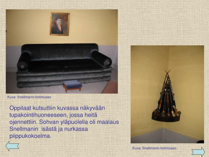 Kuva: Snellmanin kotimuseo