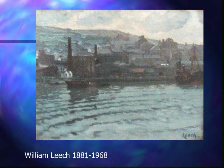 William Leech 1881-1968