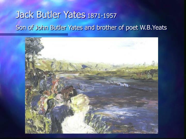 Jack Butler Yates