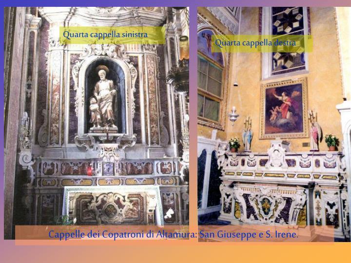 Quarta cappella sinistra