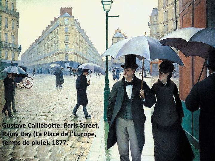 Gustave Caillebotte. Paris Street,