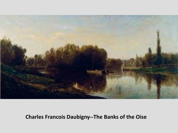 Charles Francois Daubigny--The Banks of the Oise
