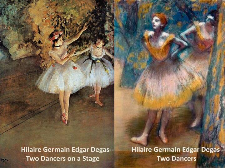 Hilaire Germain Edgar Degas--