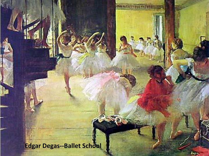 Edgar Degas--Ballet School