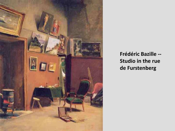 Frédéric Bazille --