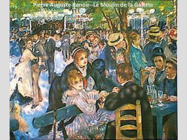 Pierre Auguste Renoir--Le Moulin de la Galette