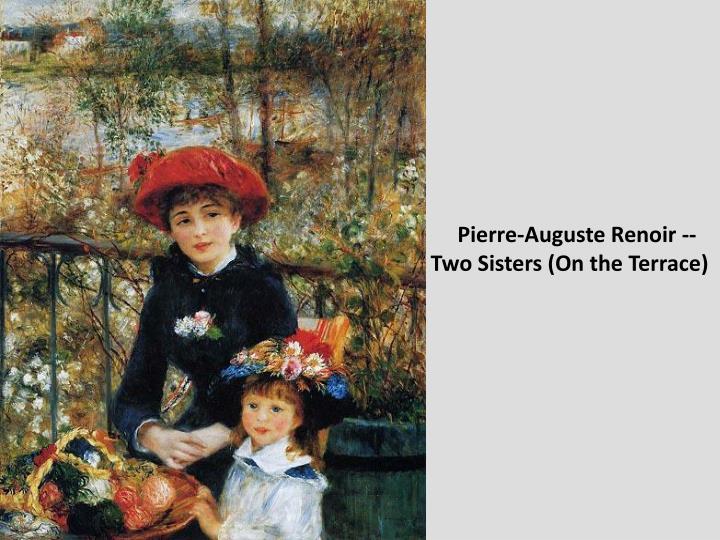 Pierre-Auguste Renoir --