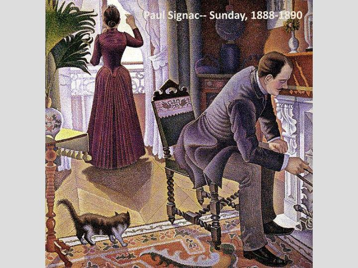 Paul Signac-- Sunday, 1888-1890