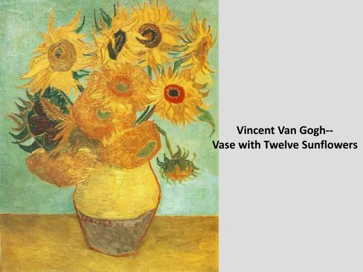 Vincent Van Gogh--