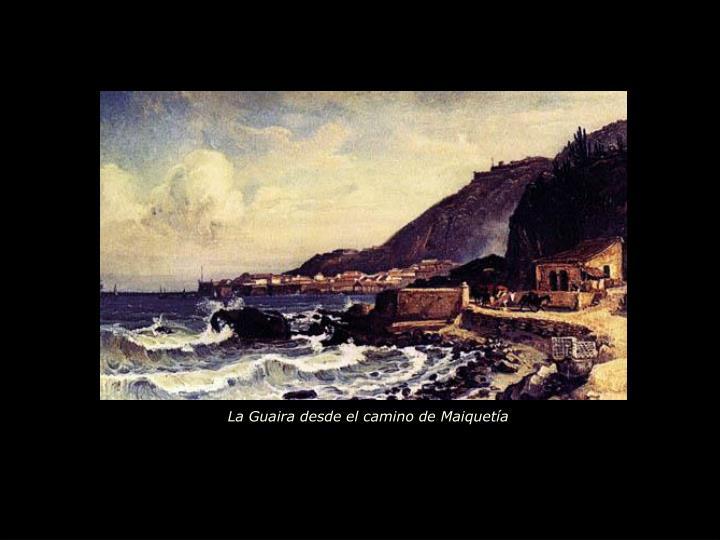 La Guaira desde el camino de Maiquetía