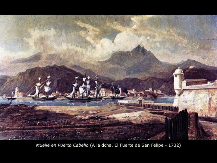 Muelle en Puerto Cabello
