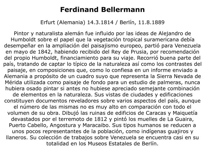 Ferdinand Bellermann