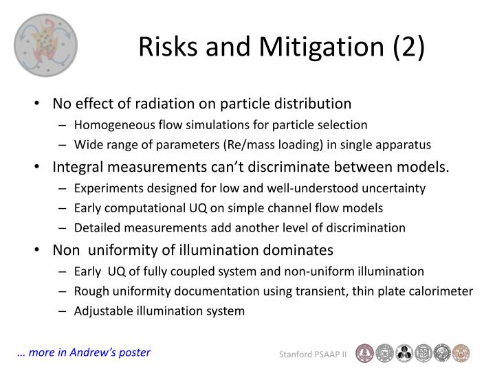 Risks and Mitigation (2)