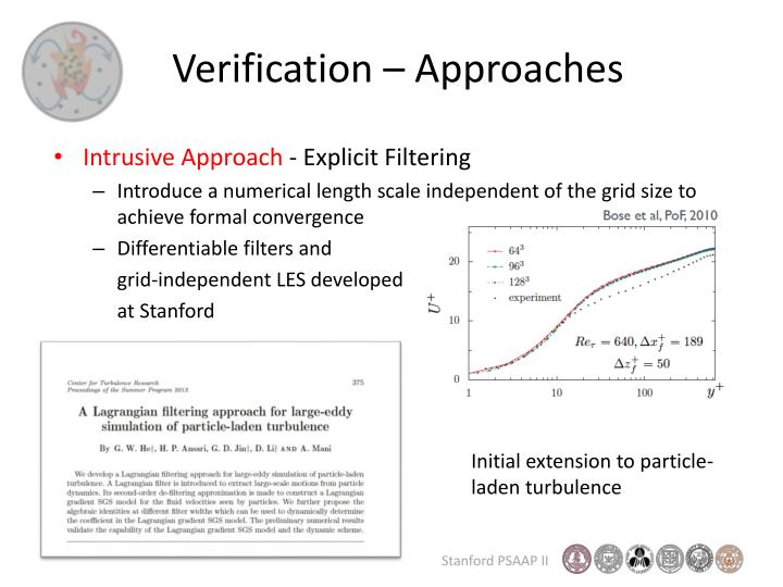 Verification – Approaches
