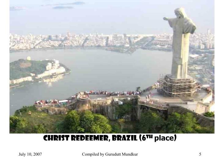 Christ Redeemer, Brazil (6