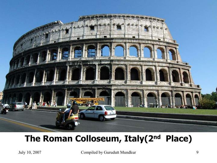 The Roman Colloseum, Italy(2
