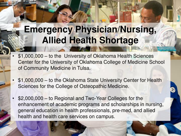 Emergency Physician/Nursing,